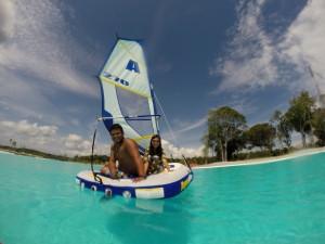 Crystal Lagoon Sailing