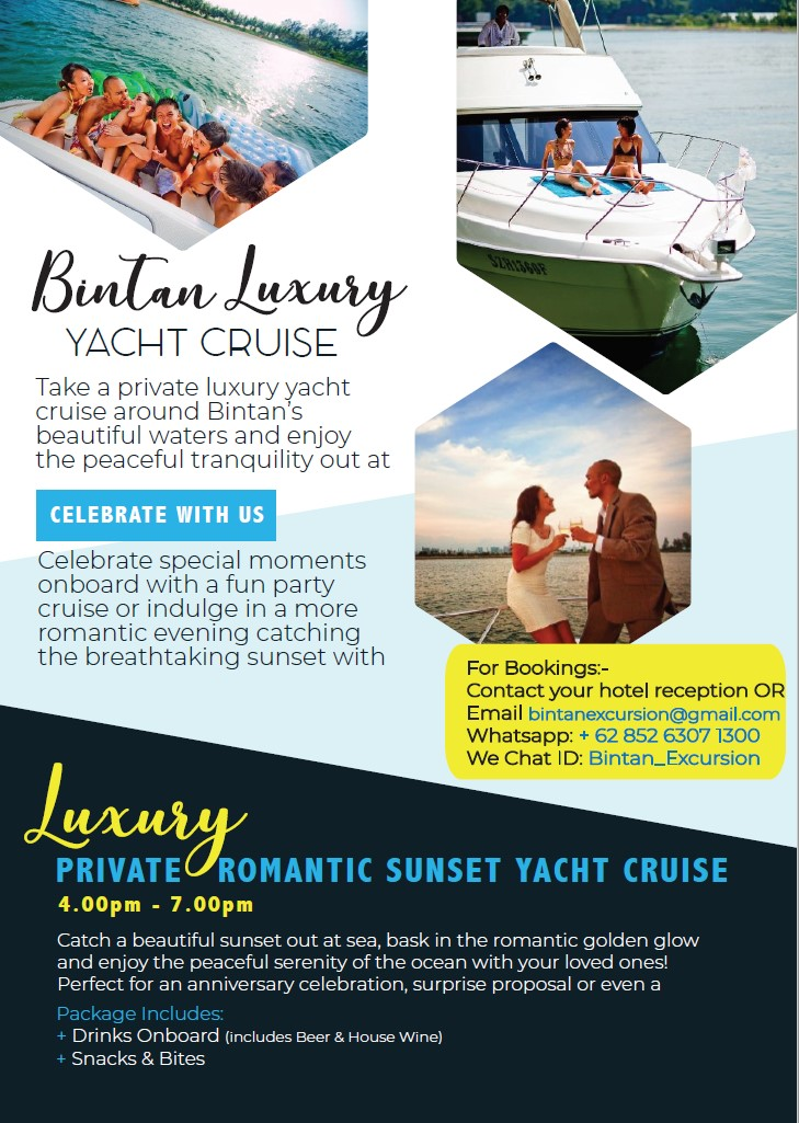 Bintan Resorts Yacht Charter